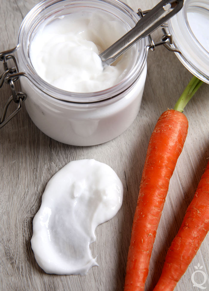 Carrot Hair Conditioner DIY