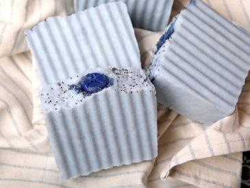 Blueberry Hot Process Cold Process Soap