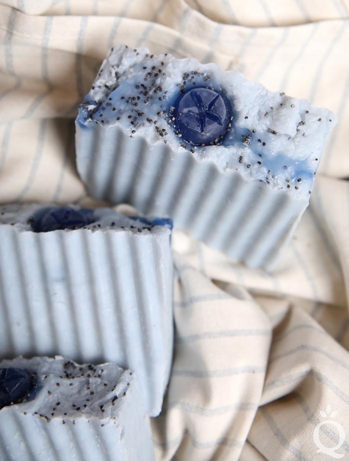 Blueberry Hot Process Soap