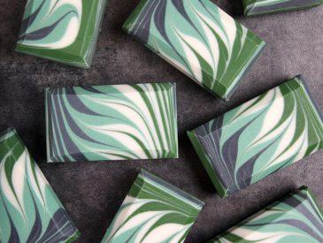 Cucumber and Aloe Circling Taiwan Soap DIY