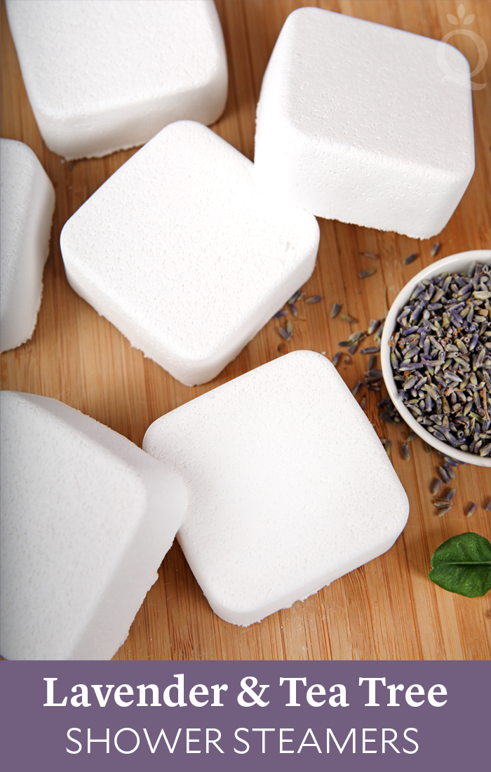 Lavender and Tea Tree Shower Steamers DIY
