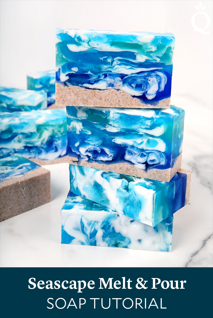 Seascape Melt and Pour Soap Tutorial