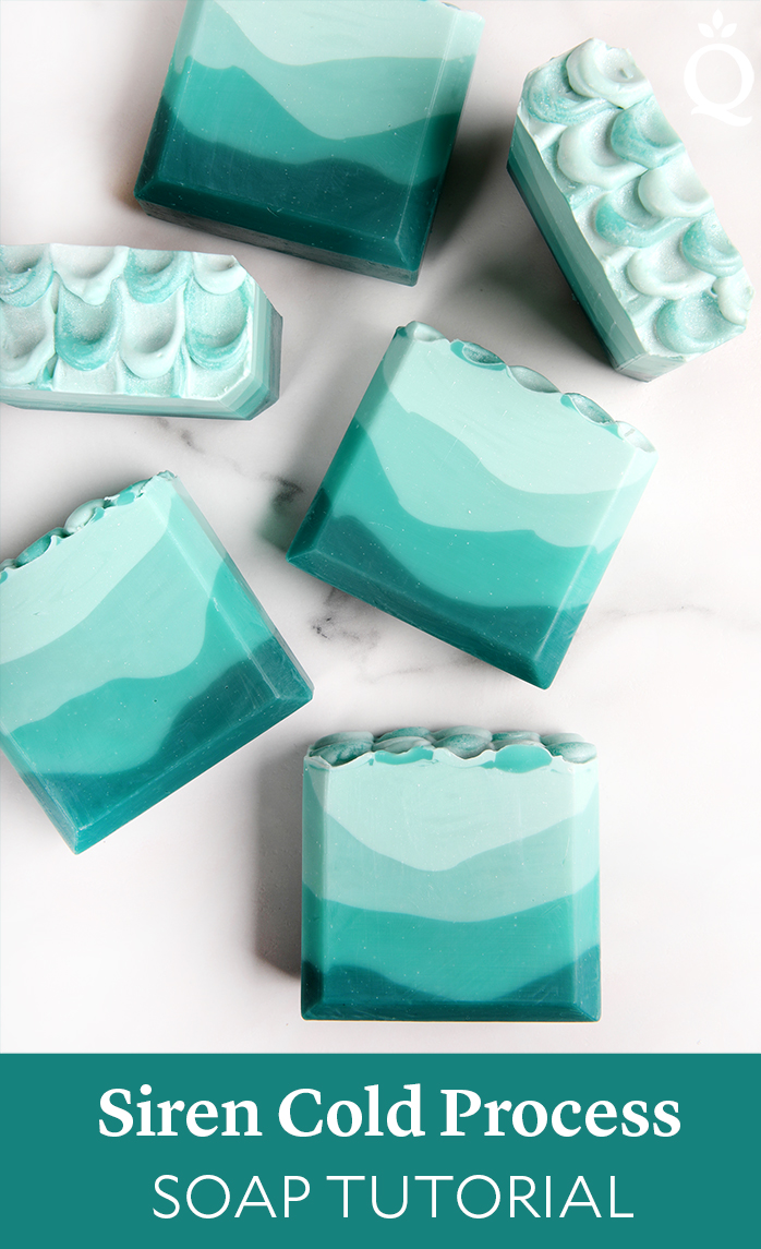 Siren Cold Process Soap Tutorial