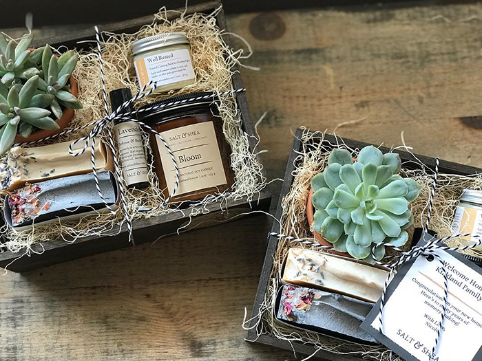 Salt & Shea Custom Gift Box
