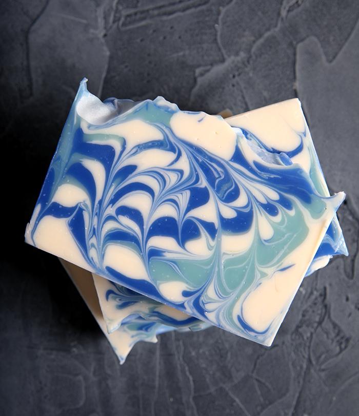 Alpine Swirl Cold Process Soap Tutorial