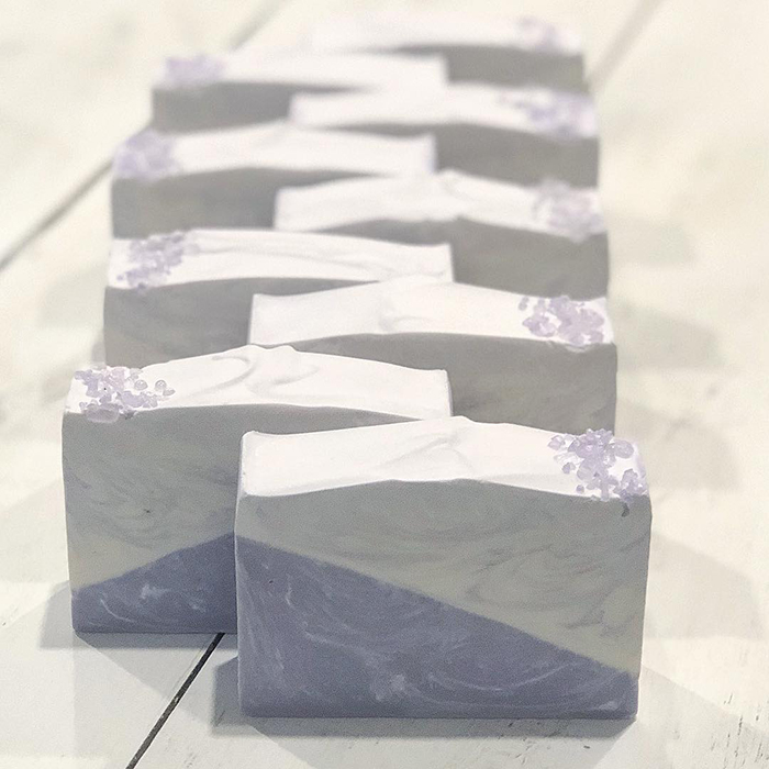Get Naked Soaps Lovely Lavender Bars