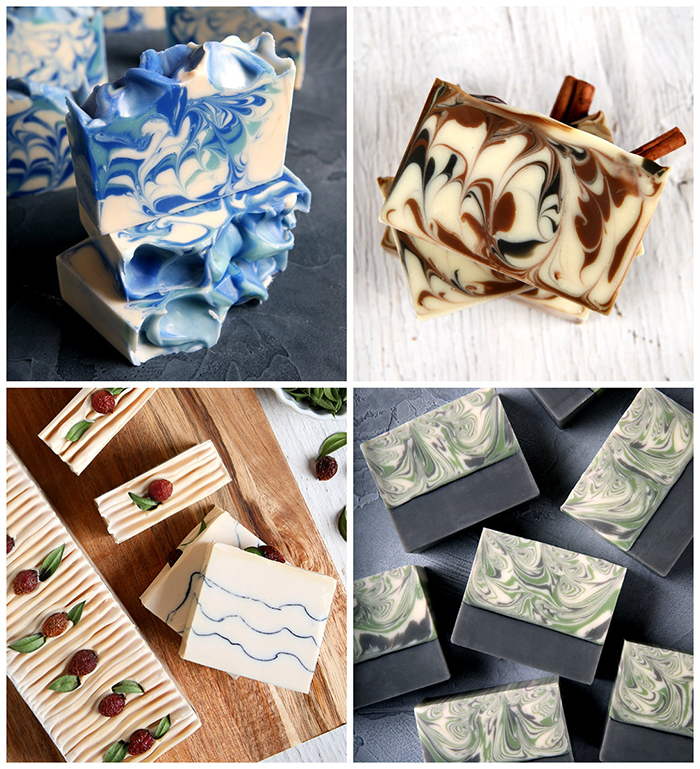 Hygge Cold Process Soap Collage