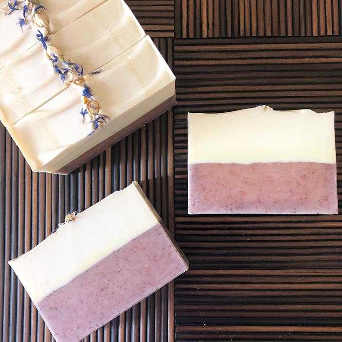 Soaperie Blueberry Thyme Soap