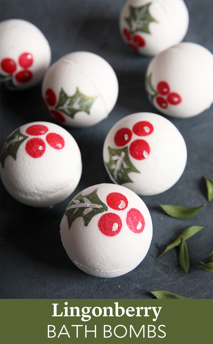 Lingonberry Bath Bombs