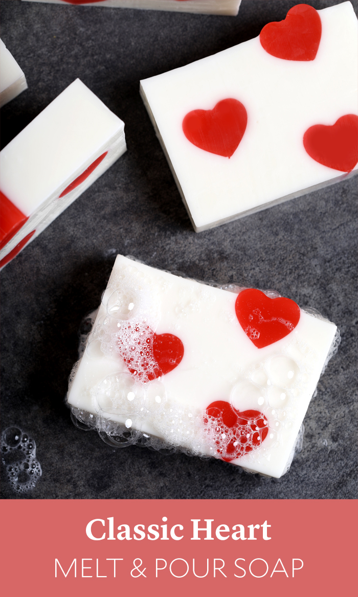 Classic Heart Melt and Pour Soap